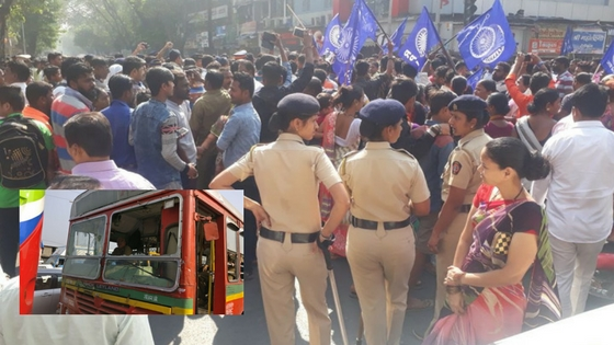 Day after Pune rally violence, Dalit protesters block roads in Mumbai
