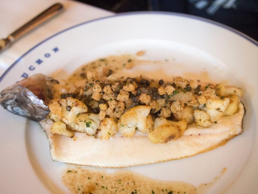 Rainbot trout @ Bouchon by Thomas Keller @ The Venetian