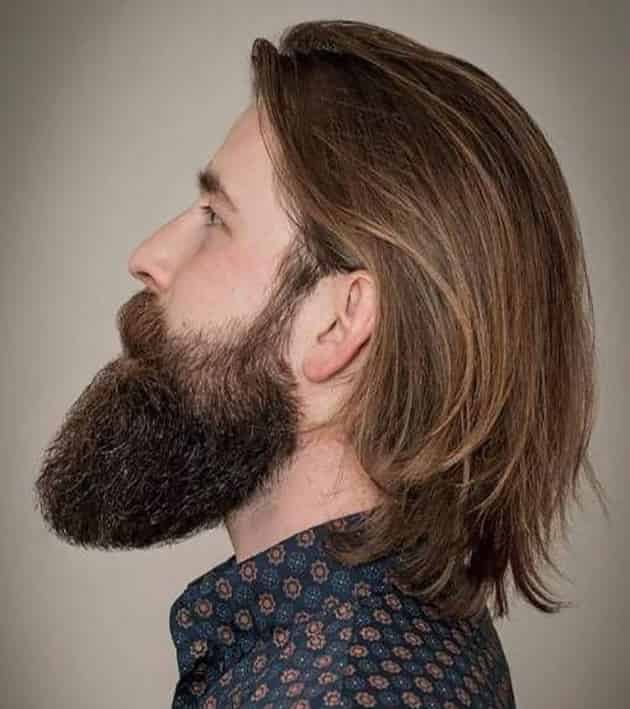 Long Back Slick Hairstyle