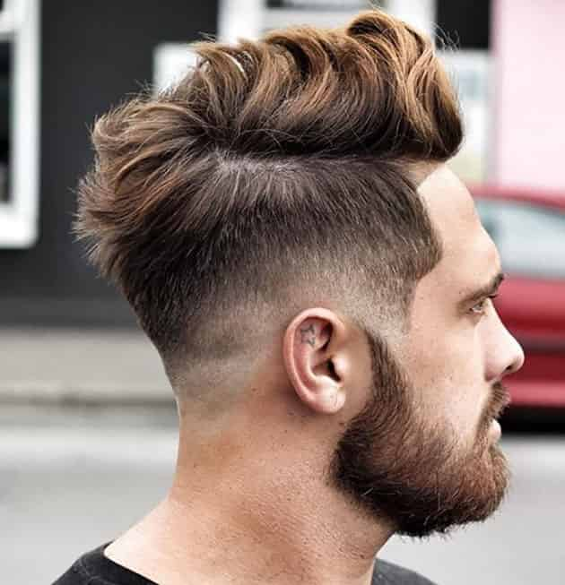 Medium Comb with Fade hairstyle