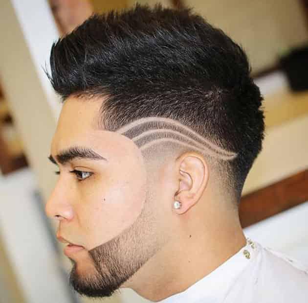 tide edge haircut