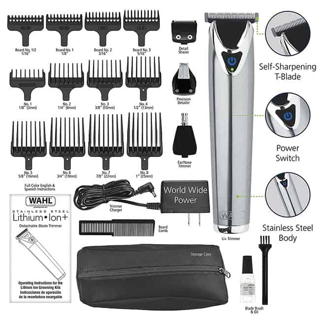 Stainless Steel Trimmer Hair Clipper