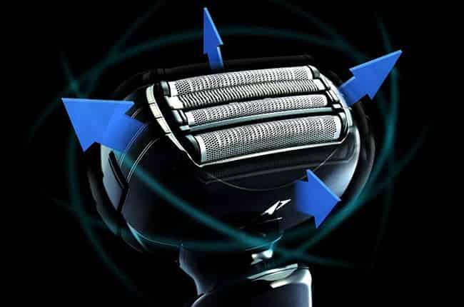 Panasonic arc4 Es-LA93-k Shaver flexible pivoting head