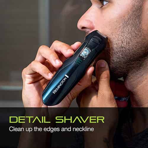 remington pg6025 all in one beard trimmer - details shaver