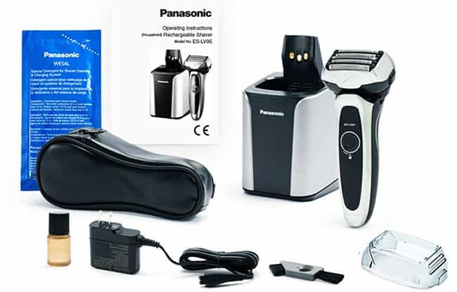 Panasonic ES-LV95-S Arc 5 Electric Shaver what's included