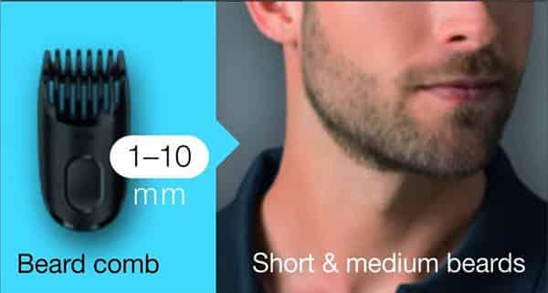 braun beard trimmer bt3040 short beard trimming