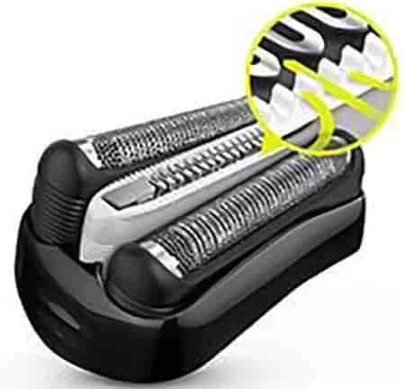 comfortable electric razor