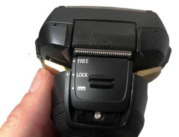 Panasonic arc5 head lock