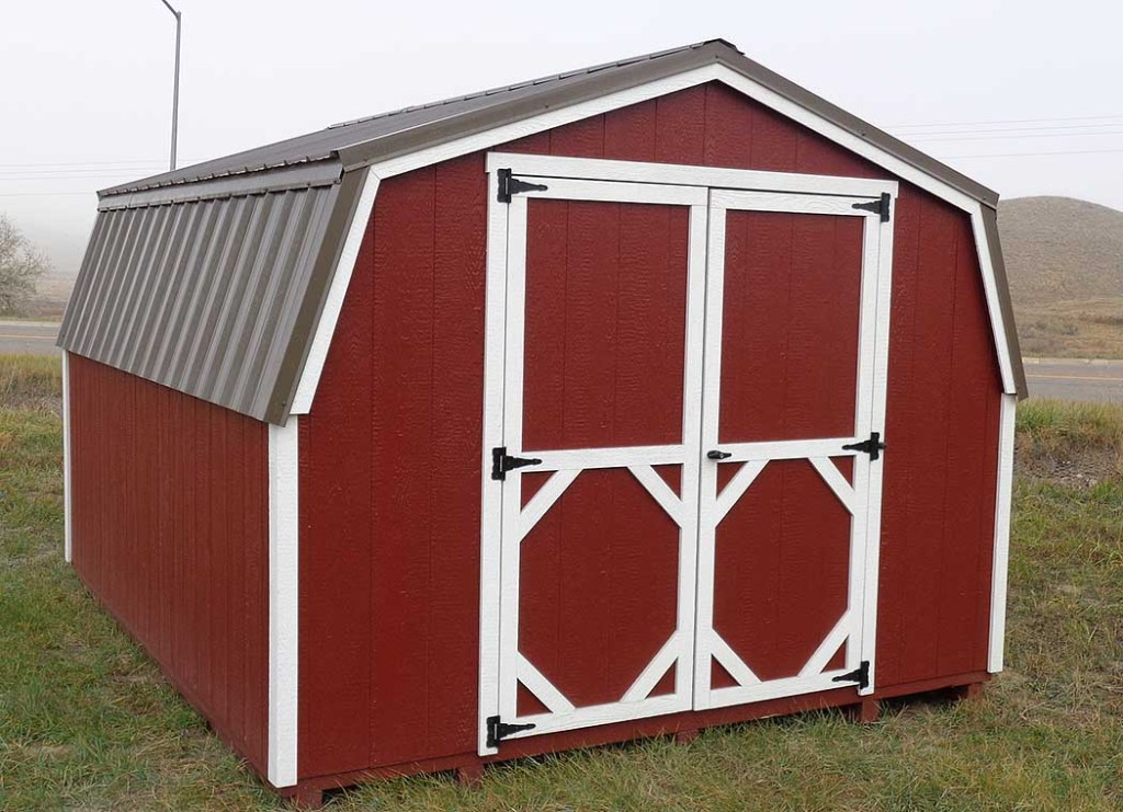 Lo-Wall Barn Shed
