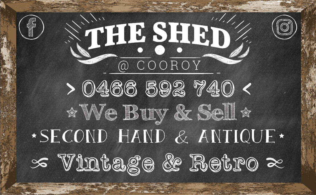 the shed cooroy second hand store antiques