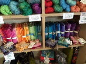 Gradients and Fat Stacks: Hand dyed wool fabric