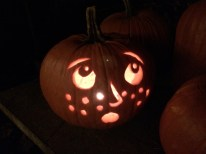 Even the freckly pumpkin is concerned...