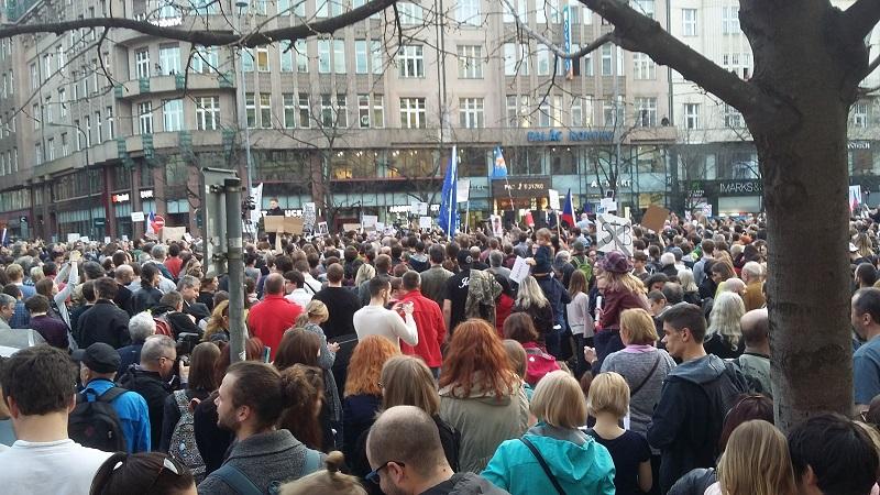prague protests 2