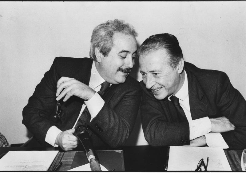 Giovanne Falcone and Paolo Borsellino