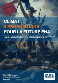 """""""Climat : 8 propositions pour la future ENA"""""""