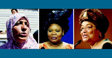 Three Women Named for Nobel Peace Prize