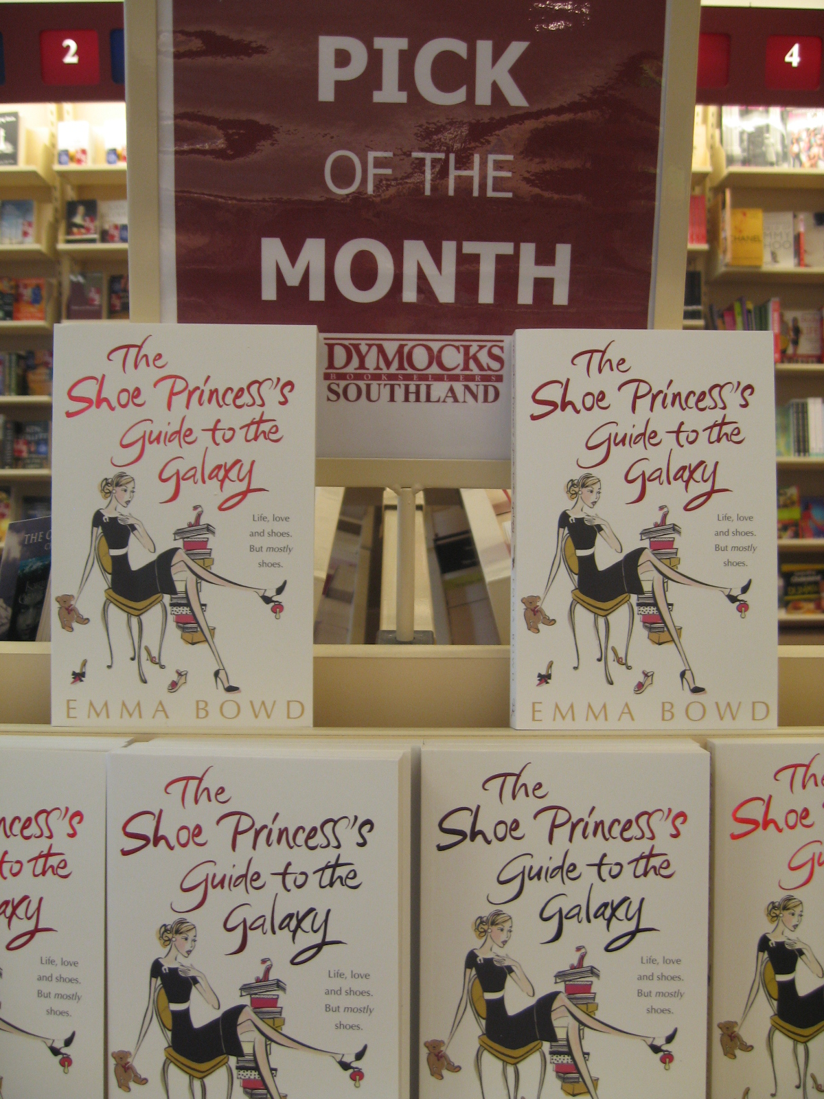 Dymocks Southland (Westfield) Pick of the Month 1 - Shoe Princess