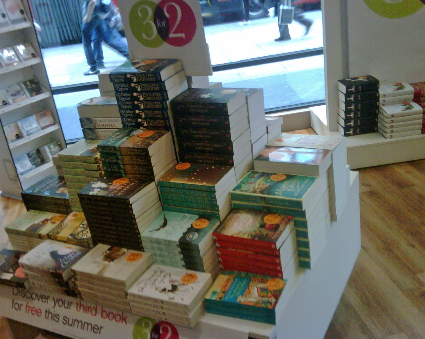 SP at Waterstones Oxford St, London