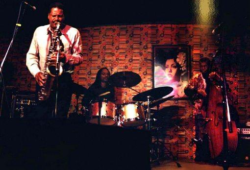 Vincent Davis |  Malachi Favors | Hanah Jon Taylor | Maghostut Trio | Live At Last | rogueart jazz
