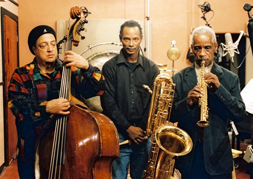 Roscoe Mitchell |  Vincent Davis | Harrison Bankhead | Roscoe Mitchell Trio | No Side Effects | rogueart jazz