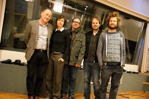 Ernst Thoma, Andrea Neumann, Christoph Gallio, Dominique Girod, Julian Sartorius | Photo by Moritz Wetter