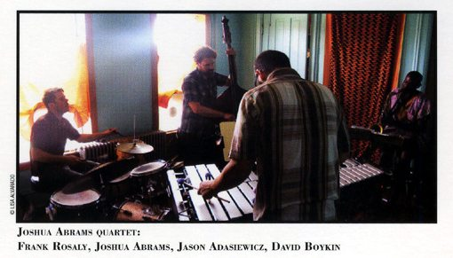 Joshua Abrams Quartet | Unknown Known | rogueart jazz