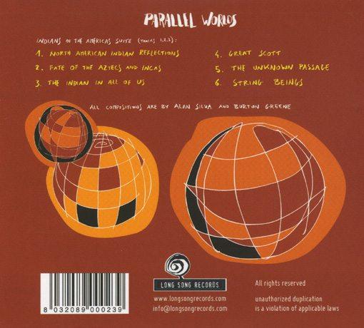 alan silva | burton greene | parallel worlds | long song records