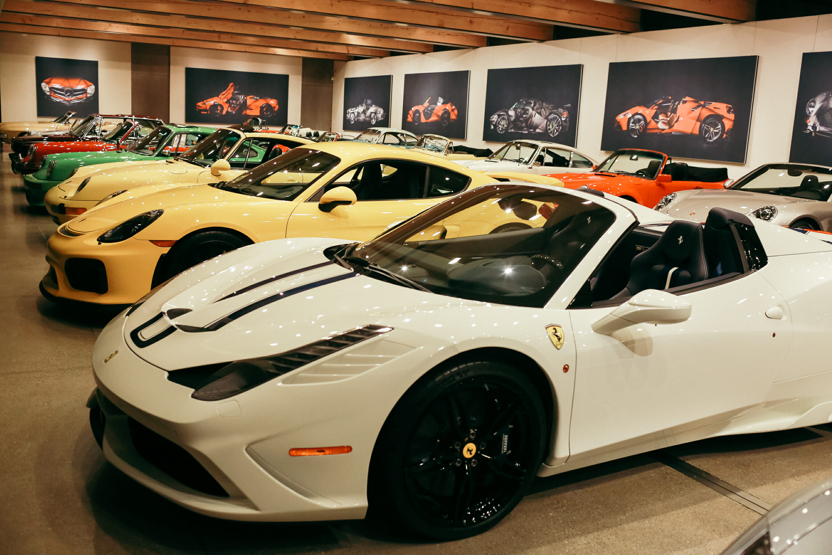 Private Car Collection Viewing | The Shop