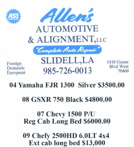 Allen's Automotive & Alignment