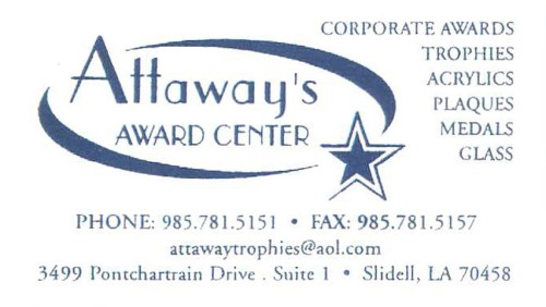 Attaway's Award Center