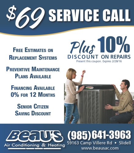 Beau's Air Conditioning and Heating