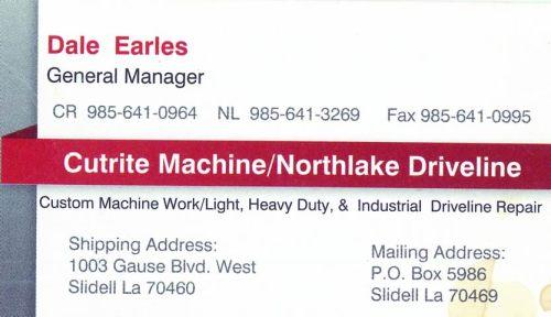 Cutrite Machine / Northlake Driveline