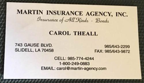 Martin Insurance Agency, Inc