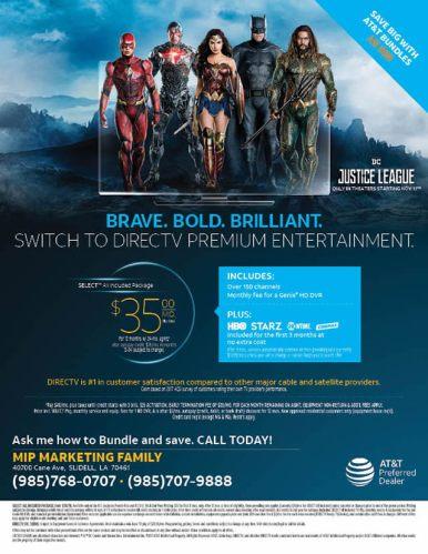DirecTV Premium Entertainment