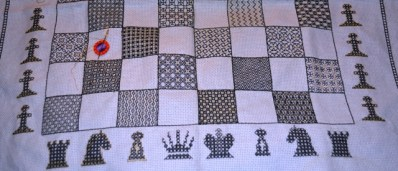 Blackwrok Chessboard, the black side of the boarad