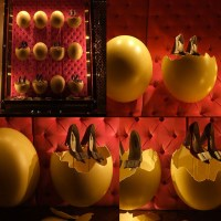 Huevos estrellados al estilo Louis Vuitton