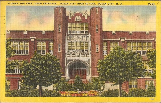 postcardhighschool