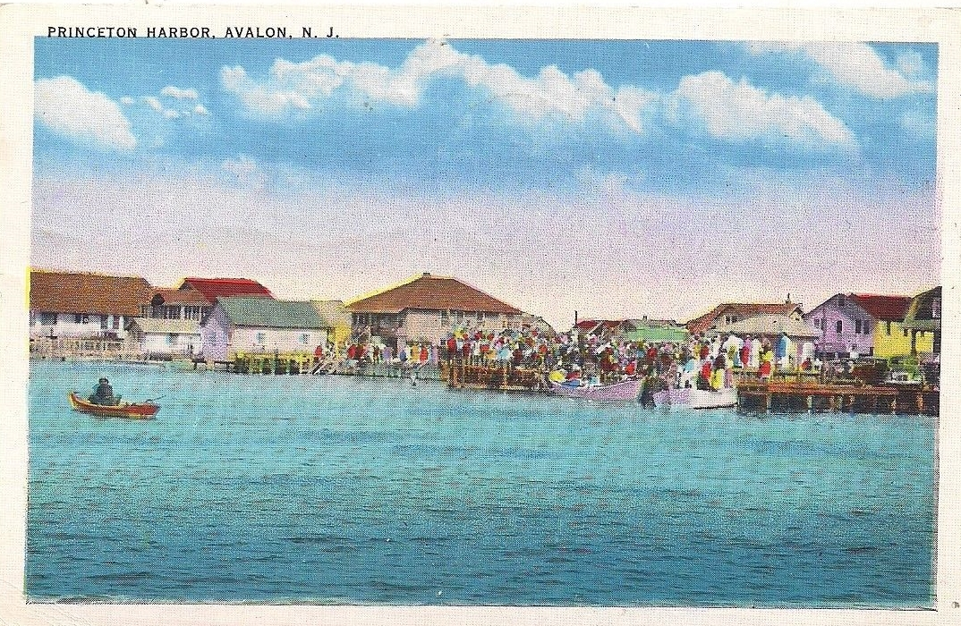 postcardprincetonharbor
