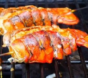 lobster-tail-ongrill