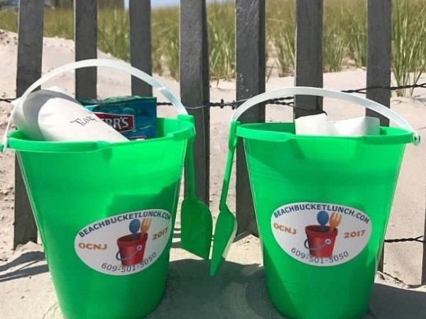 Beach Bucket Lunch Delivers Right to Your Chair