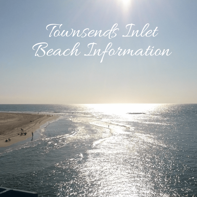 Townsends Inlet Beach Information