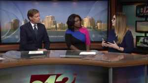 Dr. Laura on CBS 12 News