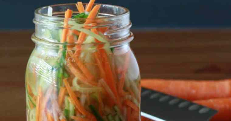 How To Make Quick Pickled Vegetables – Kids in the Kitchen