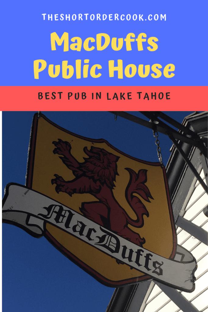 MacDuffs Public House South Lake Tahoe