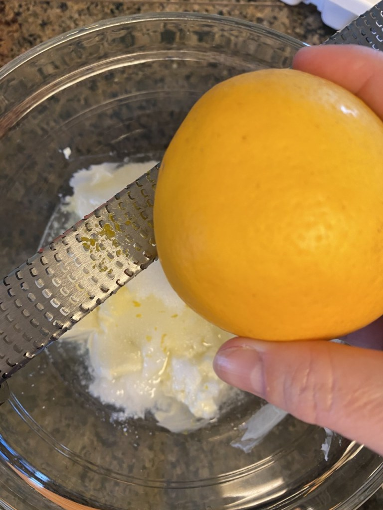 No Bake Lemon Cheesecake Fat Bomb