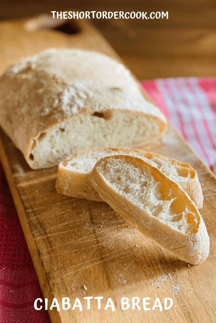 Dinner Ciabatta Bread PIN