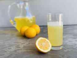 Lemonade Concentrate Recipe Card