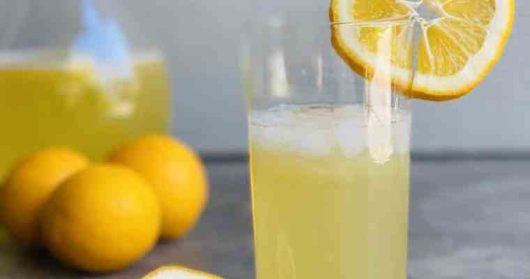 Homemade Keto Low Carb Lemonade Concentrate