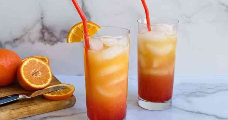 Tequila Sunrise Cocktail: Two Unique Twists on the Classic