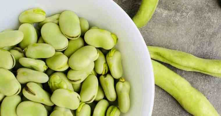 How to Shell, Cook, and Peel Fresh Fava Beans